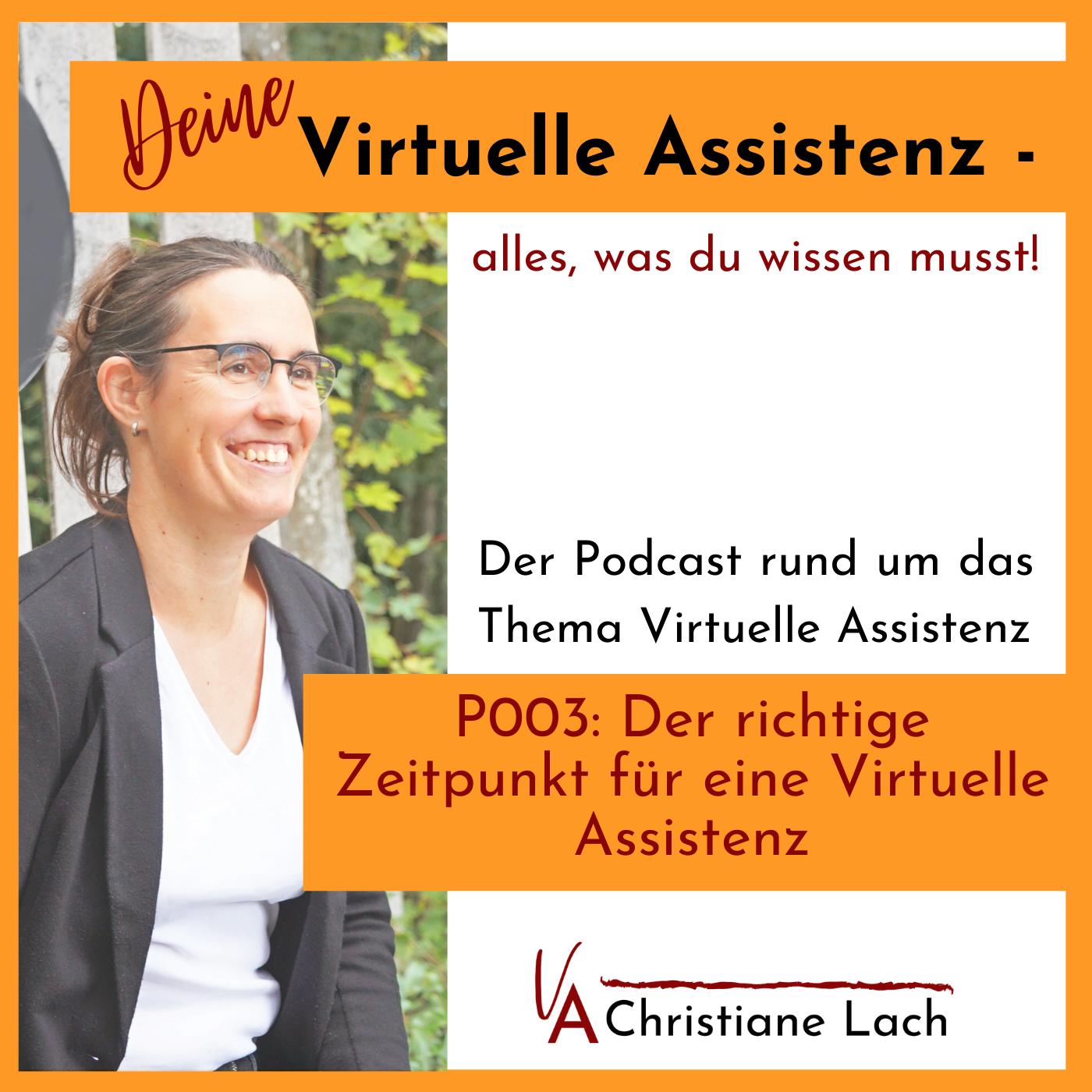 P003: Der richtige Zeitpunkt für eine Virtuelle Assistenz