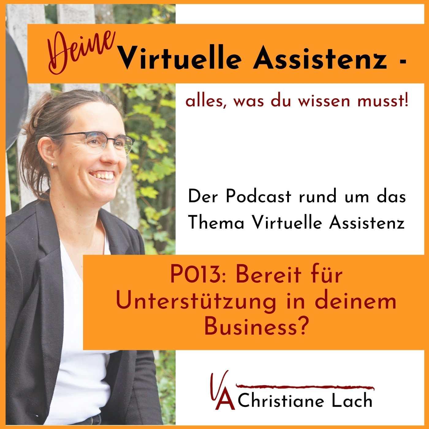 P013: Bereit für Unterstützung in deinem Business?