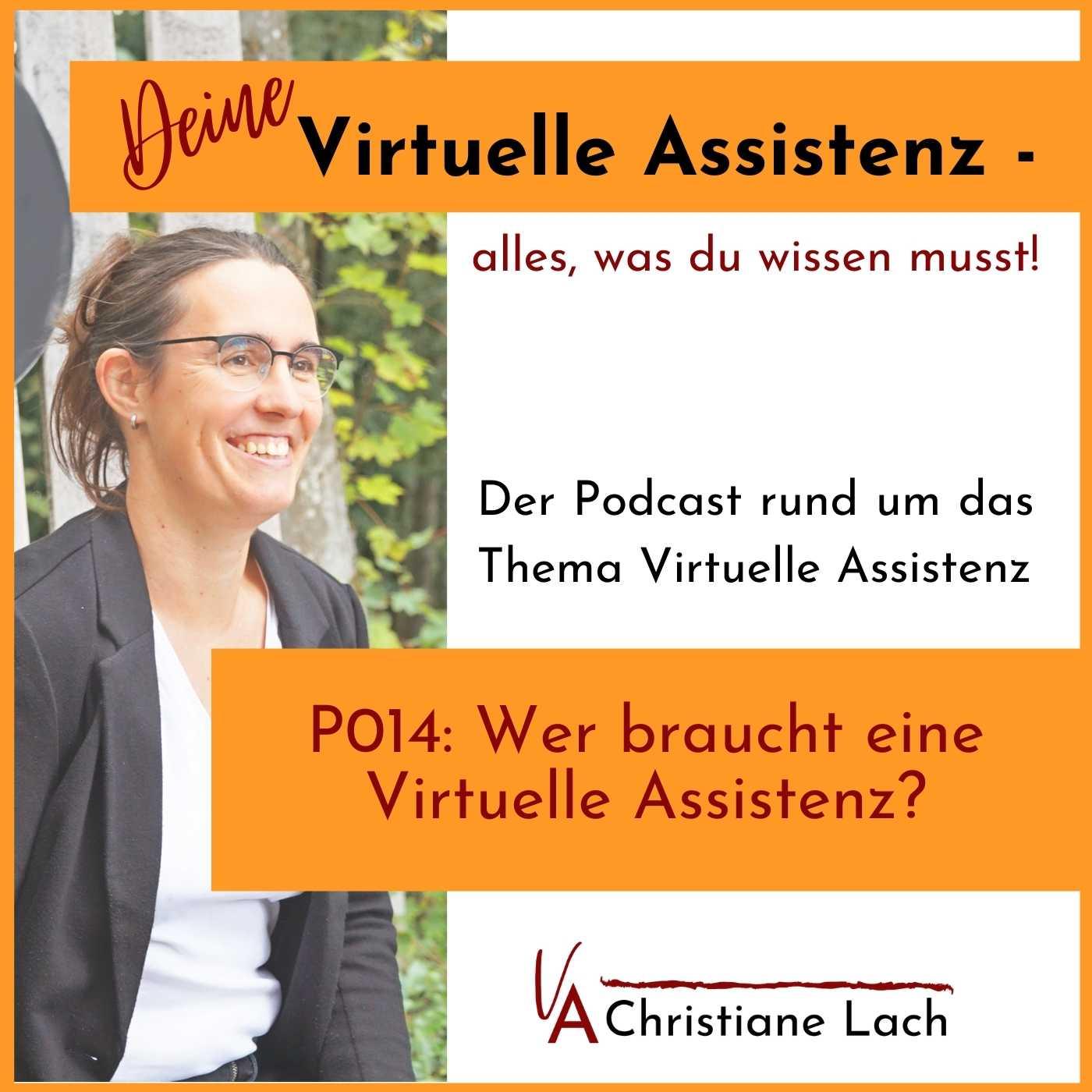 P014: Wer braucht eine Virtuelle Assistenz?