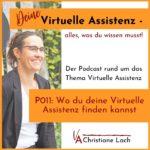 P011 - wo du deine Virtuelle Assistenz finden kannst