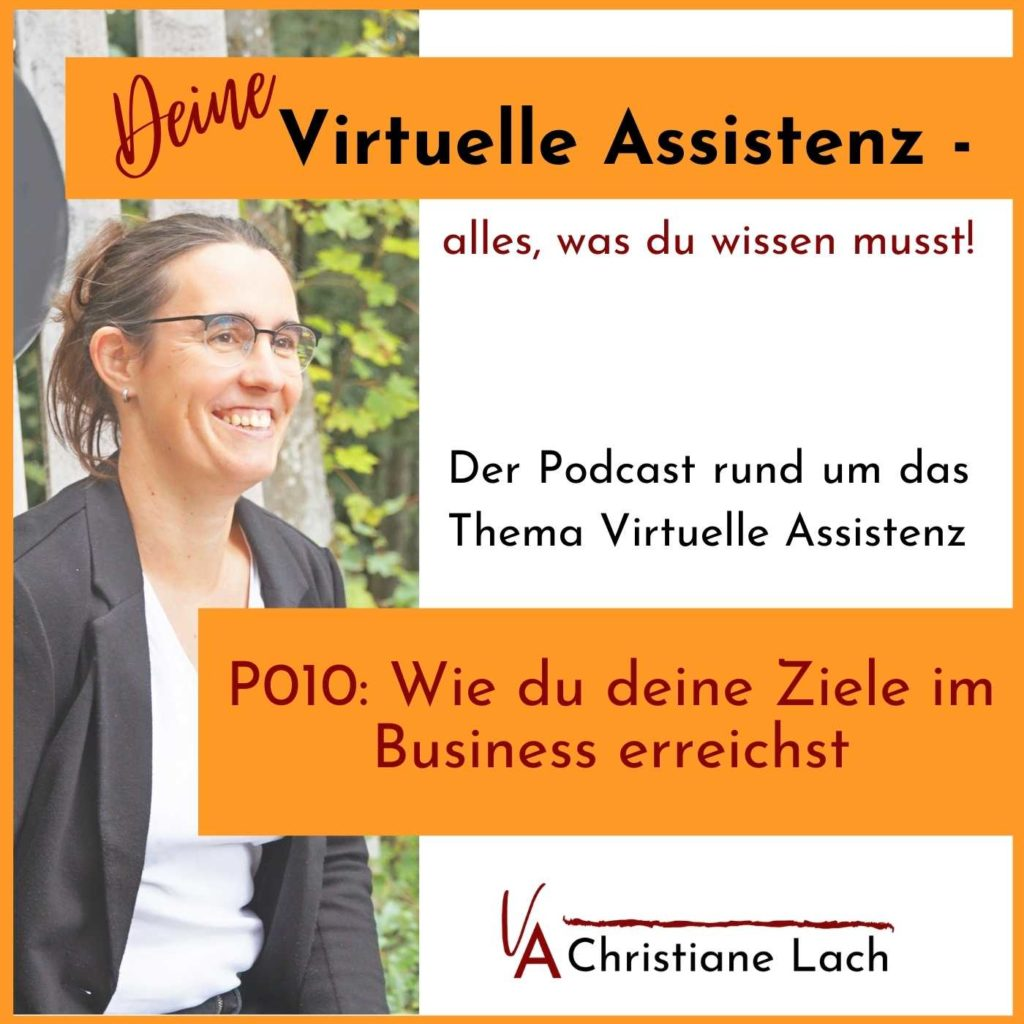 Wie du deine Ziele im Business erreichst Podcast