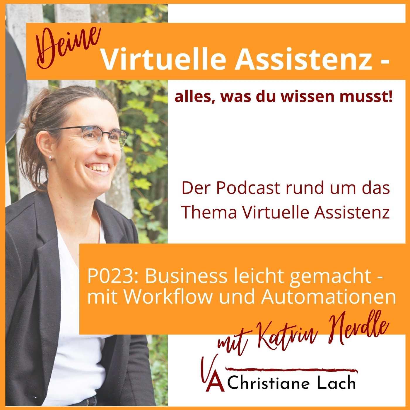 P023: Business leicht gemacht – mit Workflow und Automationen