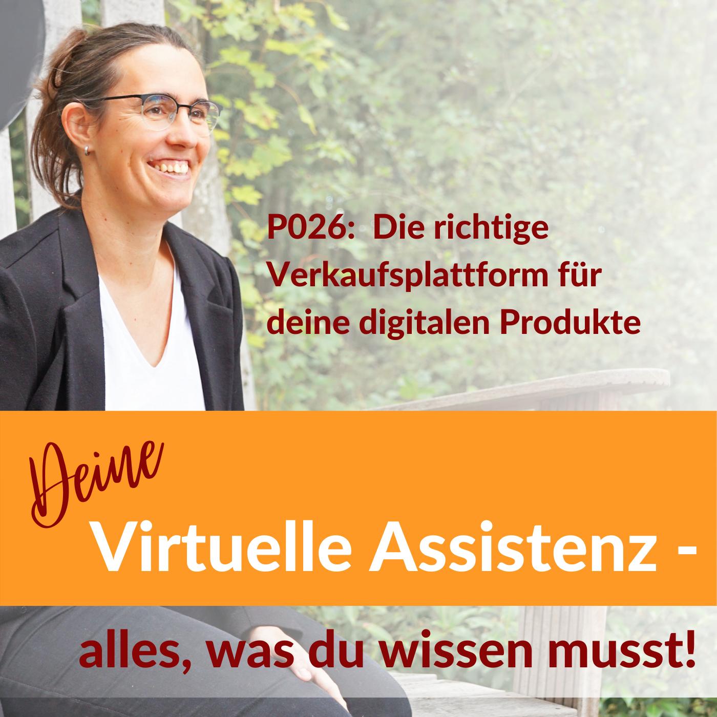 P026: Die richtige Verkaufsplattform für deine digitalen Produkte
