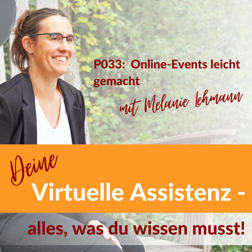 Online-Events Virtuelle Assistenz